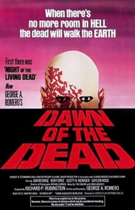 Dawn of the dead - poster