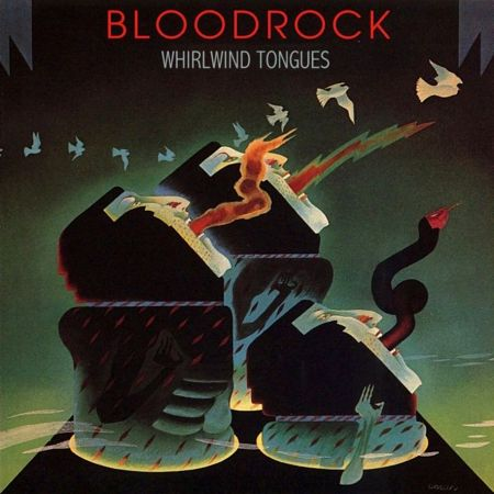 Bloodrock - Whirlwind Tongues - Front