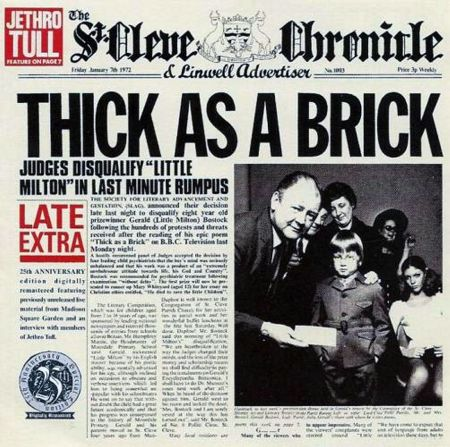 jethro - Thick As A Brick